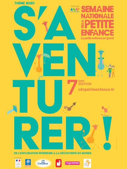Affiche Semaine Nationale de la Petite Enfance 2020